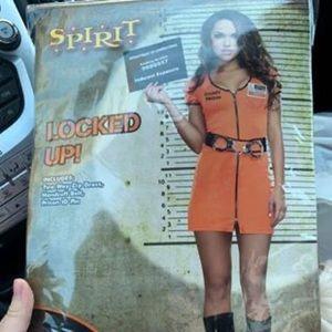 Halloween prisoner costume
